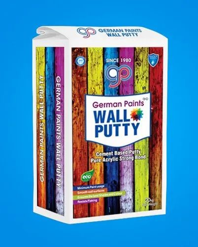 Super White Wall Putty, Packaging Size: 40 Kg