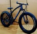 Bengshi Black Blue Fat Tyre Cycle