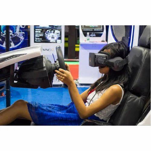 Virtual Reality Car Racing Game