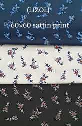 Satin Print Shirting Fabric (Lizol)