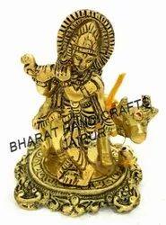 Golden Plated Cow Krishna