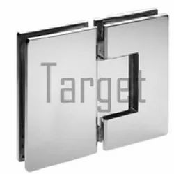 Square Shape- 180 Glass to Glass Shower Hinge