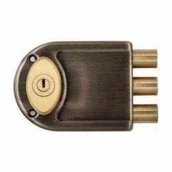Brass And Brass Door Lock