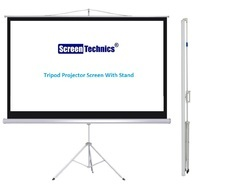 Screen Technics  6'x4' Tripod Projector Screen 84 TS  Deluxe