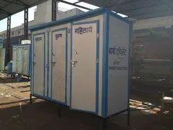 03 Seater PPGI Puff  Bio Toilet