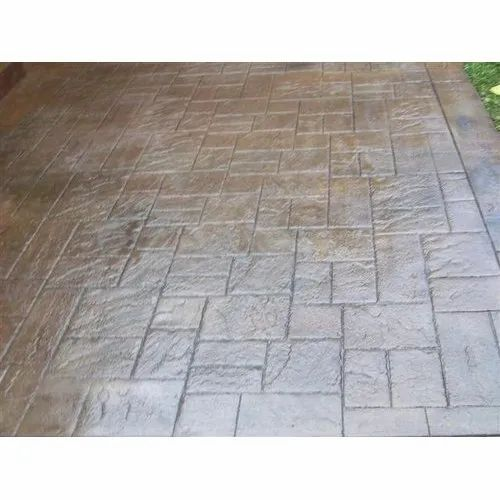Stamped Concrete Decorative Flooring Services In Thane West Thane