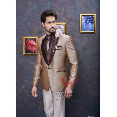11a94856e7 Mens Stylish 3-Piece Suit, Size: 34-44, Rs 3000 /set, Wallson Ethnic ...