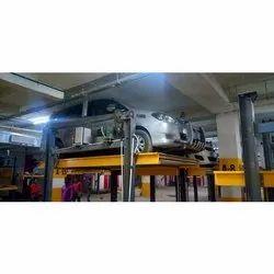 Mild Steel Electromechanical Car Parking System, Capacity: 2 Ton