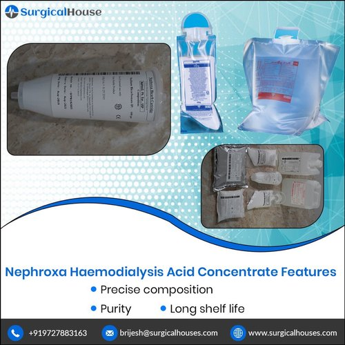 Nephroxa Bicarb Cartridge Compatible with Fresenius 5008 Dialysis Machine