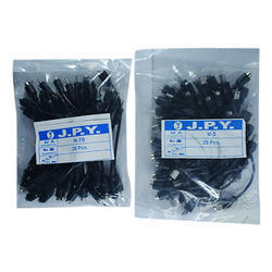 JPY Black Mobile Charger Pins