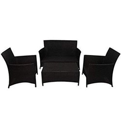 Universal Furniture Outdoor Sofa Set with Center Table