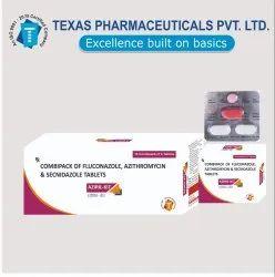 Combipack,Fluconazole ,Azithromycin ,Secnidazole Tablets