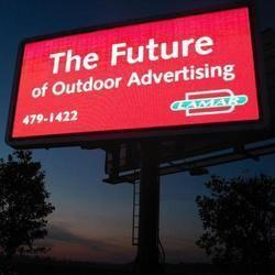 Advertising Screen