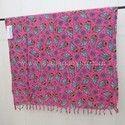 Printed Pareo Sarong Rayon Pareo Towel Beach Kikoy