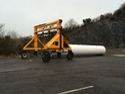 Cement Pipe Handling Truck