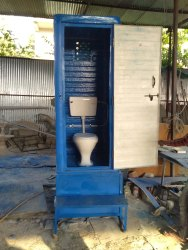 FRP Portable Western Toilet (With Safety Tank)