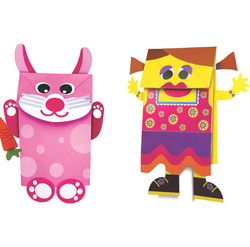 Art And Craft Toys My Paper Bag Puppets Paper Craft Toys