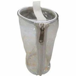 PVC Round Zipper Pouch