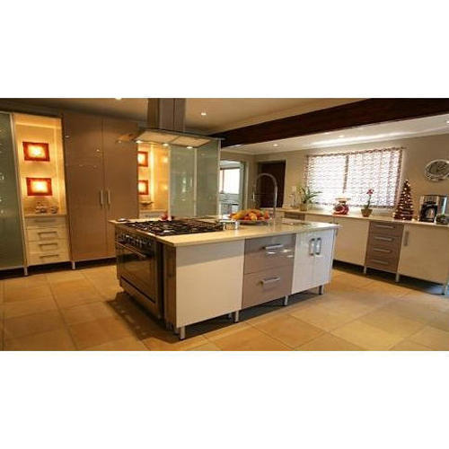 Designer Modular Kitchen At Rs 360 Square Feet: Straight Island Modular Kitchen, Rs 1600 /square Feet, New