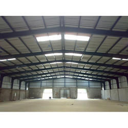 Steel / Stainless Steel Pre Engineered Industrial Roofing Structure