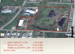 32 Acres Industrial Land With Industrial Equipment For Sale In Visakhapatnam Parawada