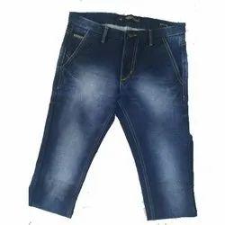 Mens Denim Faded Casual Jeans
