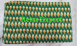 Printed  Fabric In Ikat Design