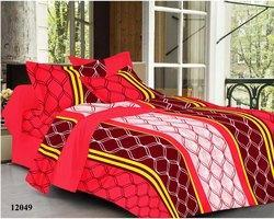 12049 Cotton Printed Double Bedsheet