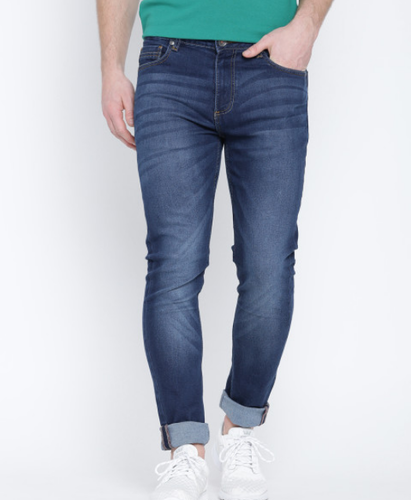 1a920cb9c608 Navy Dark Men Navy Slim Mid Rise Clean Look Jeans, Rs 799 /piece ...