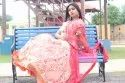 Chanderi Party Wear A Beautiful Pink Color Lehenga