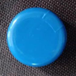 Blue Plastic Bottle Cap