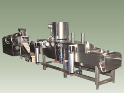 Continuous Fryer with Heat Exchanger