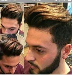 Mens Hair  Coloring Service