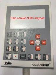 Coralab 3000 Biochemistry Analyzer- Keypad