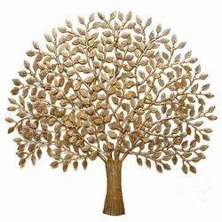 Brass Tree Wall Hangings