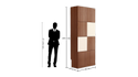 Transpose Wooden Wardrobe