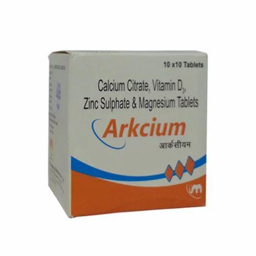 Calcium Citrate Vitamin D Tablets