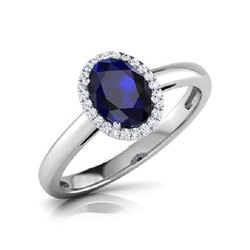Natural Blue Sapphire Neelam Ring