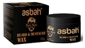 Abash Pure Man Beard & Mustache Wax, For Personal, Packaging Size: 50ml