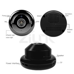 Plastic Day & Night Wi Fi Spy Camera, For Office, Packaging Type: Box Packing