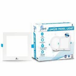 Cool White 15 Watt Square LED Panel Light UJ-PL-15W-SQ for Indoor