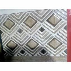 Glossy Rectangular Designer Ceramic Wall Tile, Thickness: 10-15 mm, for interior wall