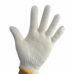 White Safety Gloves