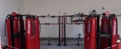 High Pressure Gas Manifold System