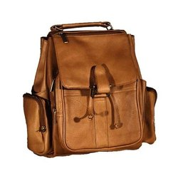 83e7bdfd3 Fancy Leather Backpack at Rs 1000 /piece(s) | Leather Backpacks | ID ...