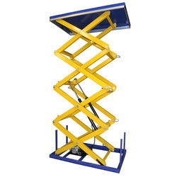 Stationary Hydraulic Scissor Lift