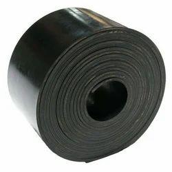Black Rubber Conveyor Belt