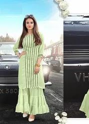 Pr Fashion Launched Lovely Readymade Kurti Withe Palazzo