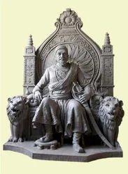 Shivaji Maharaj Matel Statue
