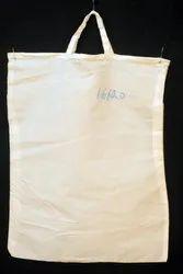 White Plain, Printed Cloth Carry Bags